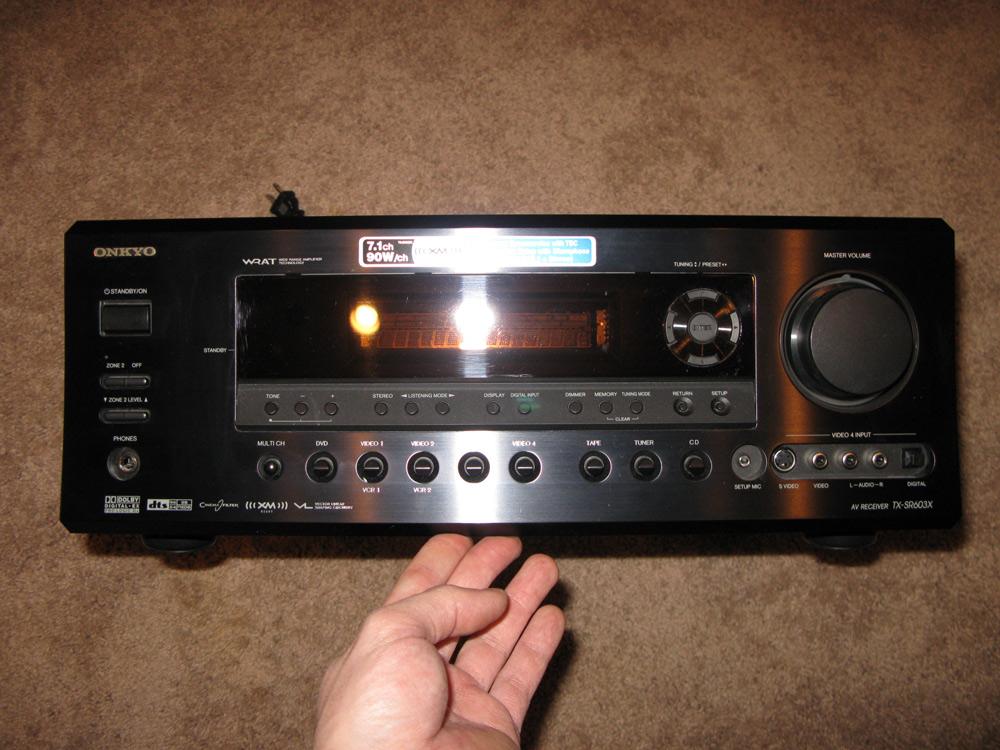 Audio Stuff In Wall Speakers Onkyo 7 1 Receiver